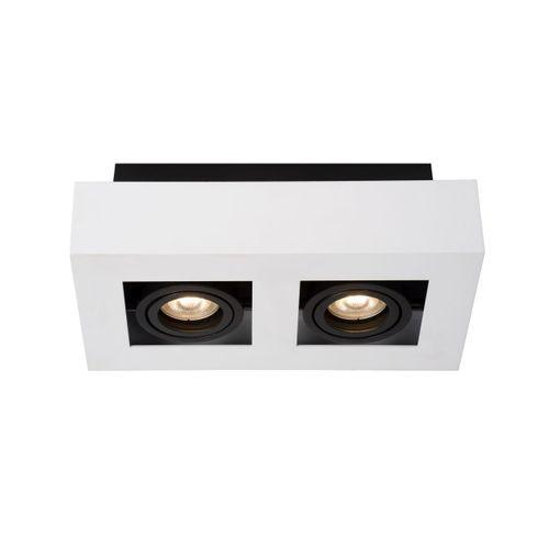 Lucide plafondlamp Xirax wit 2x5W