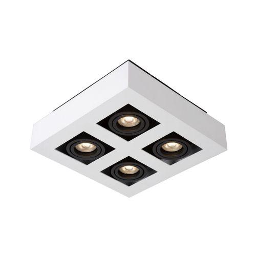 Lucide plafondlamp Xirax 4x5W wit
