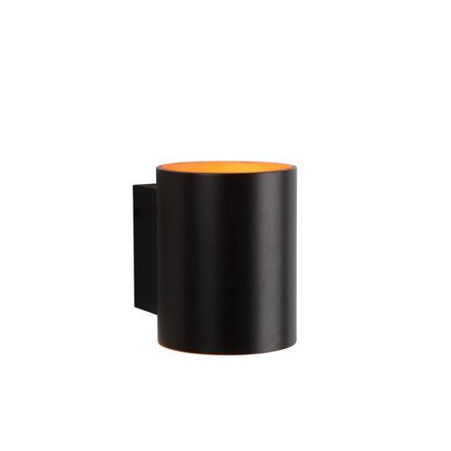 Lucide wandlamp Xera zwart G9