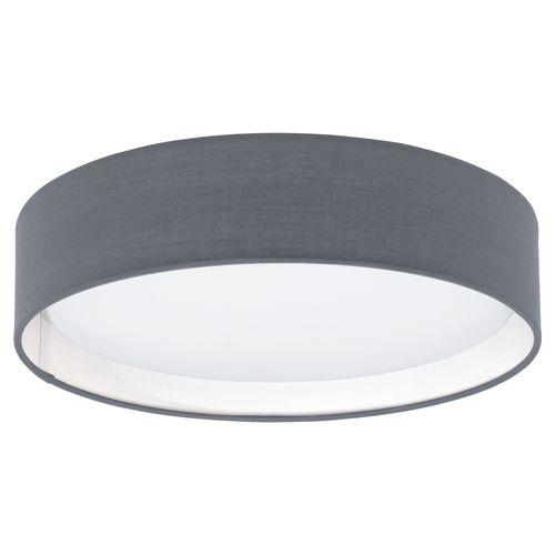 Plafonnier LED EGLO Pasteri gris 11W