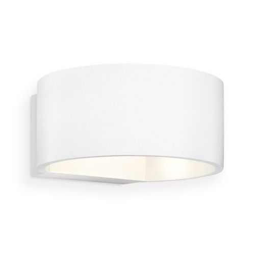 Applique murale LED Home Sweet Home Lounge blanche 5W