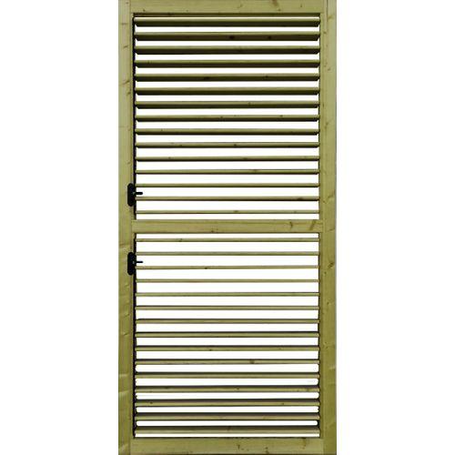Solid verstelbare lamellenwand S1064