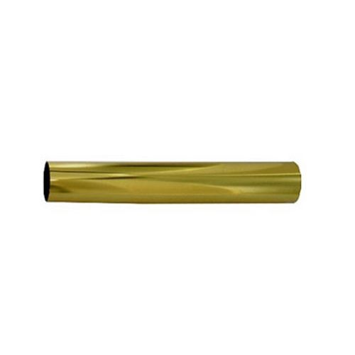 Vynex kleerkaststang vermessingd staal 200 x 1,8 cm