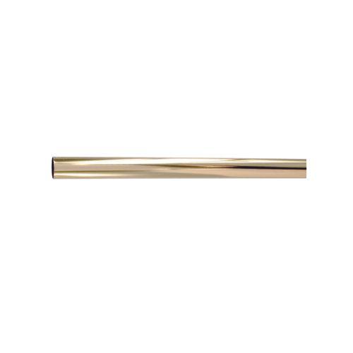 Vynex kleerkaststang vermessingd staal 200 x 2,5 cm