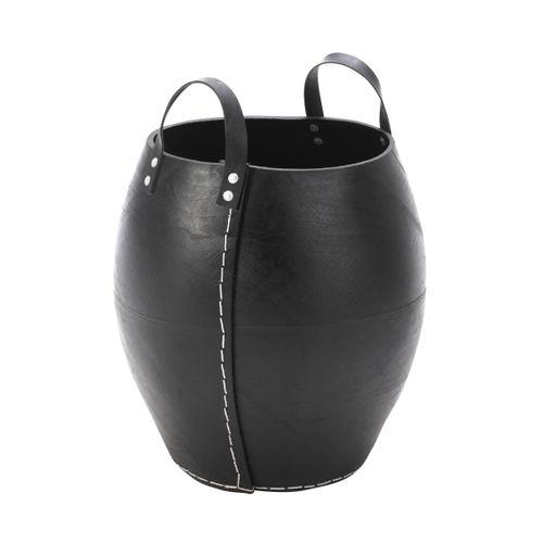 Panier à pellets 'Naxos' noir