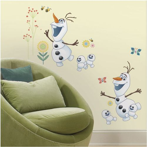 RoomMates muursticker Frozen Fever Olaf