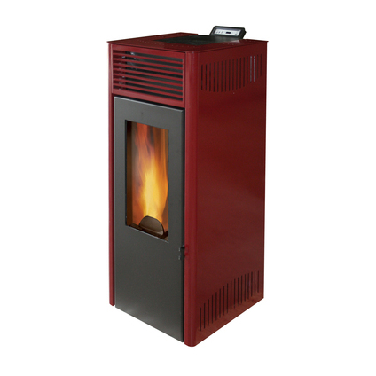 Invicta pelletkachel Nola 10 Red 10kW