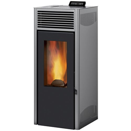Invicta pelletkachel Nola 10 Grey 10kW