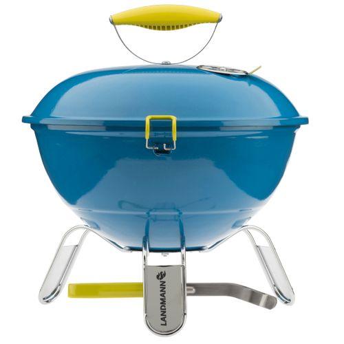 Landmann tafelbarbecue houtskool Piccolino blauw