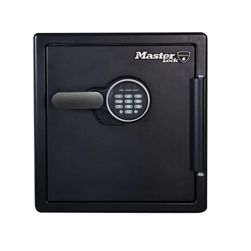 Coffre fort à combinaison digitale Master Lock XL résistant au feu et à l'eau