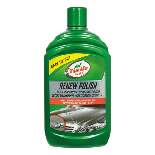 Anti-griffes -renovateur peinture Turtle Wax Renew Polish 500ml