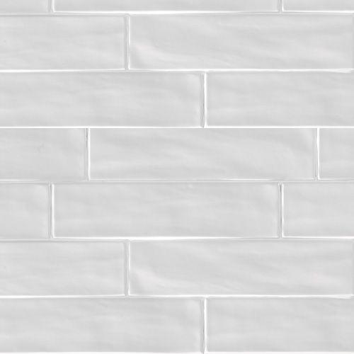 Wandtegel Organic Brick Ice 7,5x30cm
