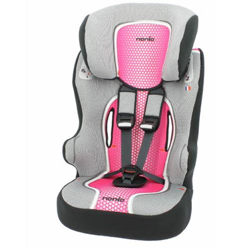 Nania autostoeltje Beline 1-12 jaar roze