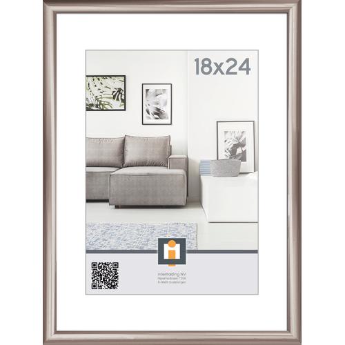 Intertrading fotolijst  antraciet 18 x 24 cm