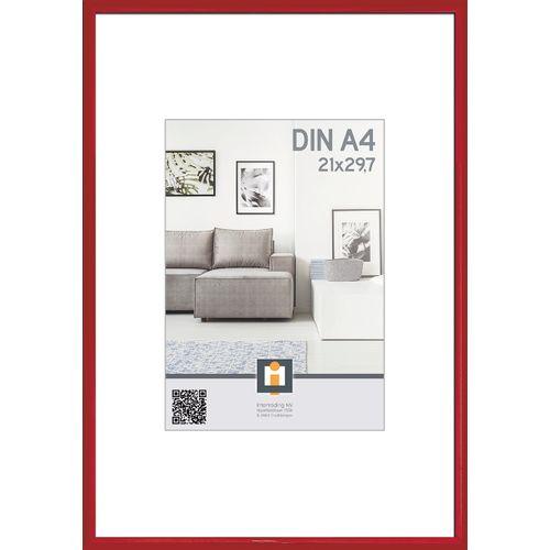 Intertrading fotolijst  rood 21 x 30 cm