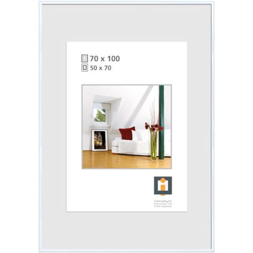 Cadre photo Intertrading  blanc 70 x 100 cm