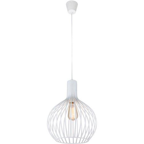 Hanglamp wit metaal