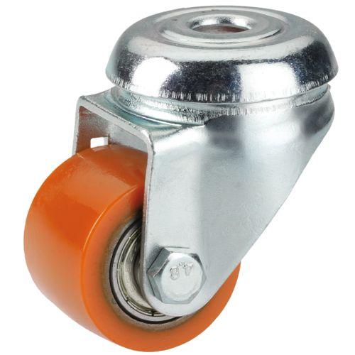 Dörner Helmer zwenkwiel polyurethaan oranje 35mm