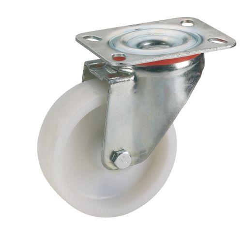 Dörner Helmer zwenkwiel polypropyleen 80x35mm