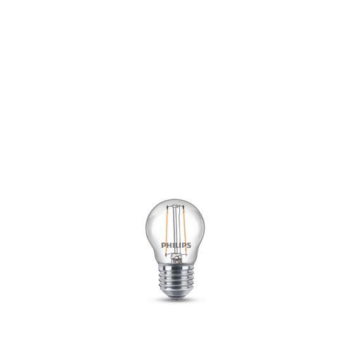 Philips LED-kogellamp 2W E27