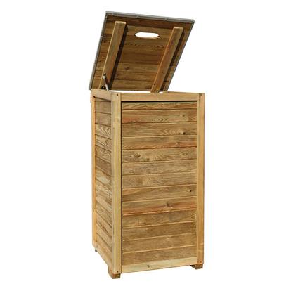 Coffre de rangement Cartri 'Salva' bois 66 x 123 cm