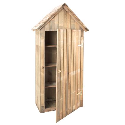 Armoire de jardin Forest Style 'Wissant' bois 195 x 79 cm