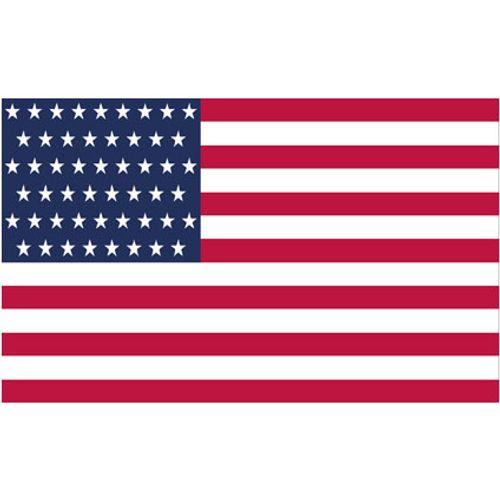 Batavia 4Grill Thermosticker Amerikaanse vlag