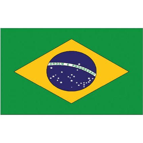 Batavia 4Grill Thermosticker Braziliaanse vlag
