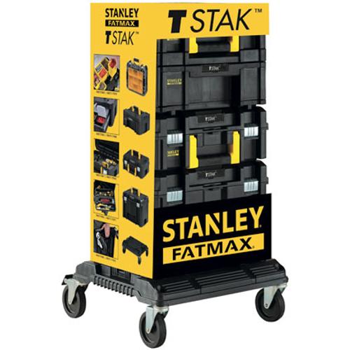 Set de 4 boîtes à outils Stanley 'Fatmax T-Stak'