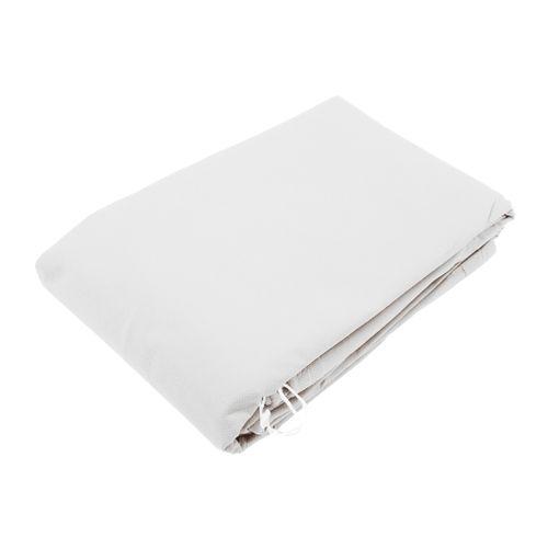 Nature vliesdoek wit 0,75 x 1,5 m - 2 stuks