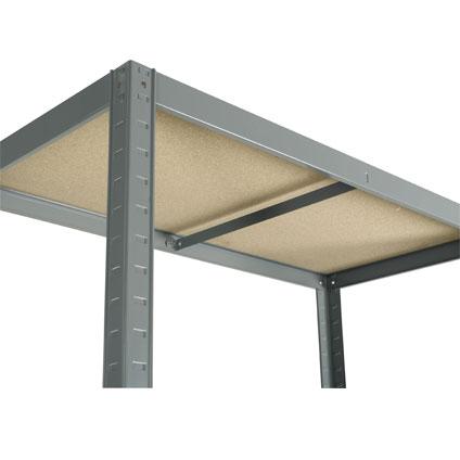 Avasco opbergrek 'Strong 400' gegalvaniseerd metaal 176 x 90 x 45 cm