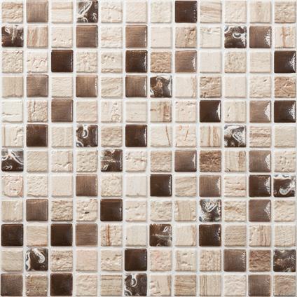 Mozaiek Tegel Petra Beige 30x30cm