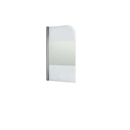 AquaVive badwand Salina 80x140cm chroom