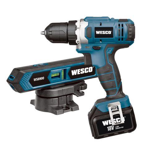 Wesco accuschroefboormachine WS2529K2 18V