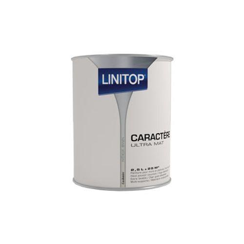 Peinture murs et plafonds Linitop 'Caractere' cashmere mat 2,5L