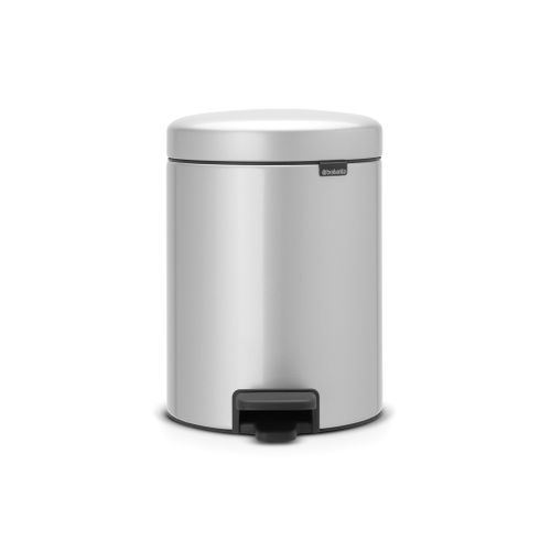 Brabantia pedaalemmer newIcon metallic grey 5L