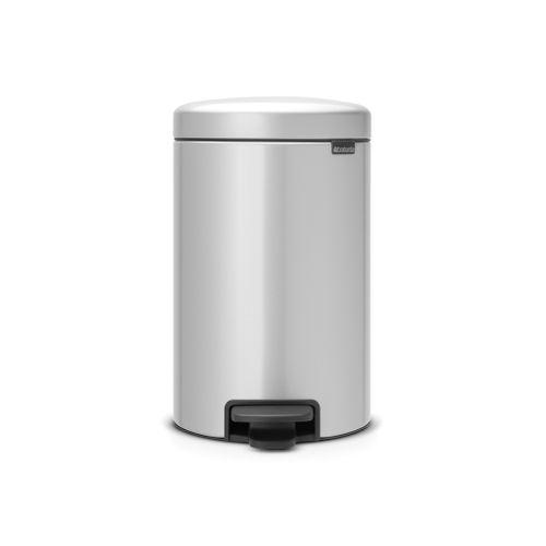 Poubelle à pédale Brabantia 'newIcon' metallic grey 12 L