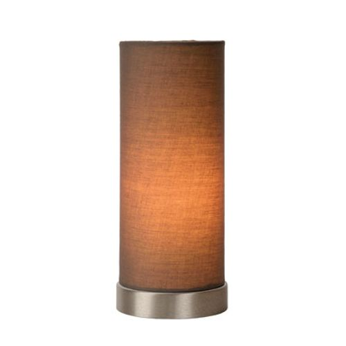 Lucide tafellamp 'Tubi' taupe 40 W