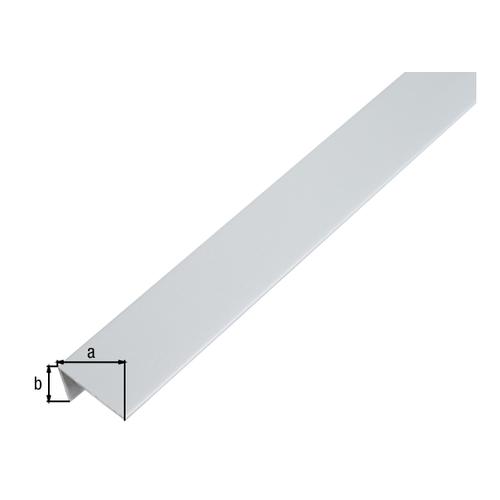 GAH Alberts L-profiel aluminium grijs  1 m x 2,5 cm