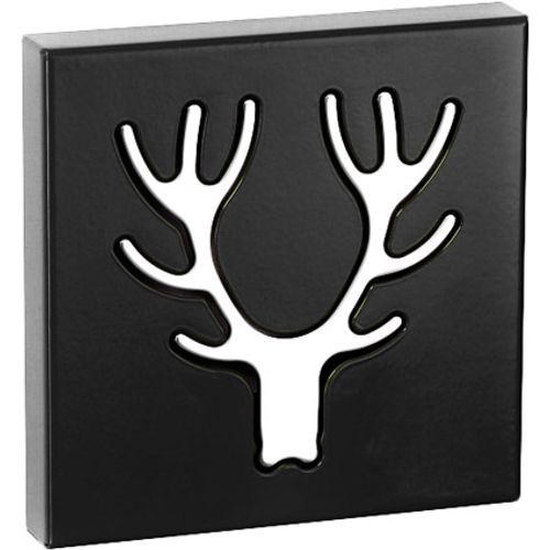 Best Home Products wandkapstok Eland zwart 1 haak