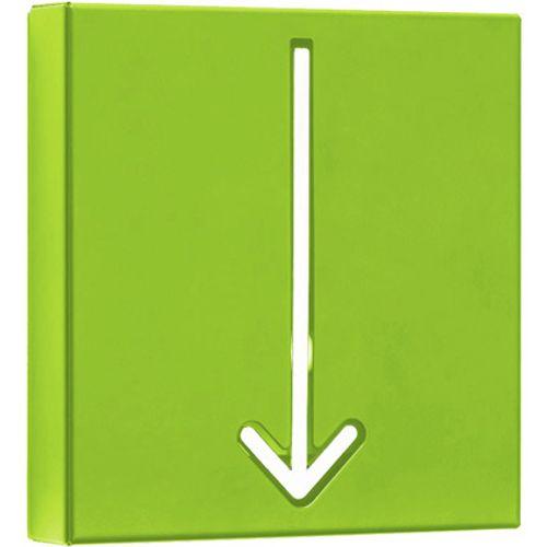 Best Home Products wandkapstok pijl groen 1 haak