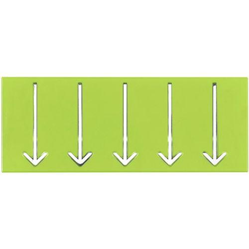 Best Home Products wandkapstok groen 3 haken