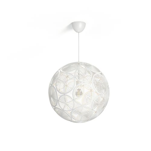Philips hanglamp 'Ring' wit 60W