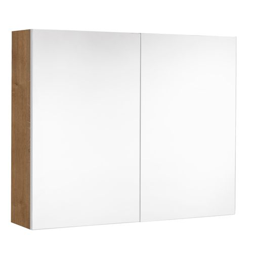 Armoire de toilette 2 portes VDE Allibert Look chêne Arlington 80cm