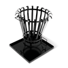 BBQ & Friends Lovington vuurkorf zwart Ø 39,5 cm