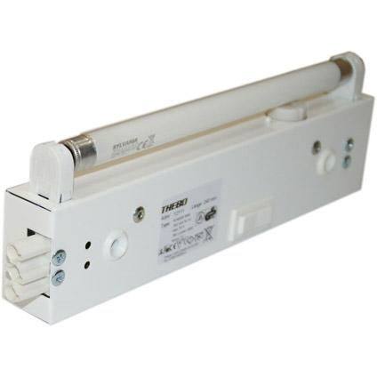 Doorkoppelbare TL-Verlichting Hoogte 28 mm Lengte 253 mm 6 watt