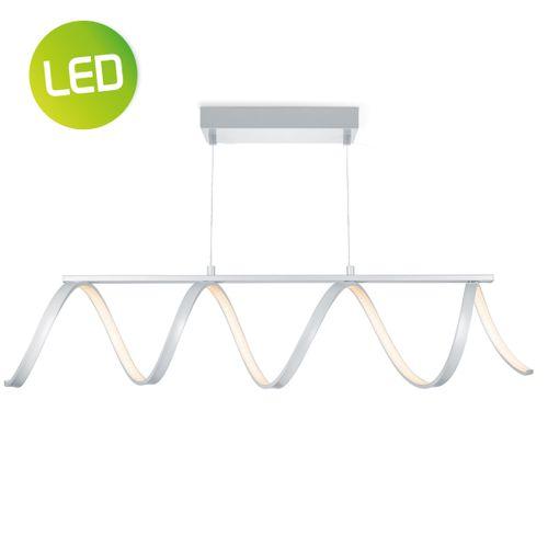 Suspension LED Home Sweet Home 'Twist' aluminium 7 W
