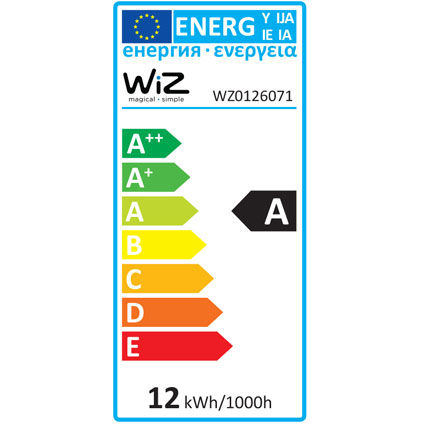 WiZ whites A E27 - 1-pack - 806lm - exclusief WiZmote