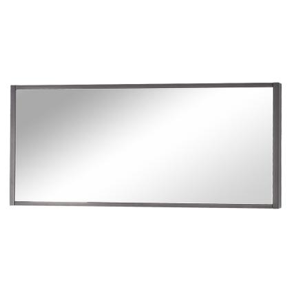 Differnz spiegel Force 113x50cm antraciet