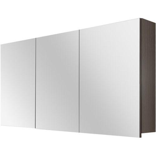 Differnz Style spiegelkast 120cm zwart eiken